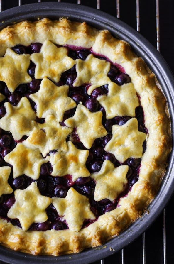 Download Czarna jagoda kulebiak zdjęcie stock. Obraz złożonej z blueberry - 57662100