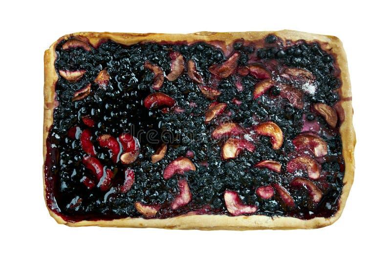 Download Czarna jagoda kulebiak zdjęcie stock. Obraz złożonej z organicznie - 57668112