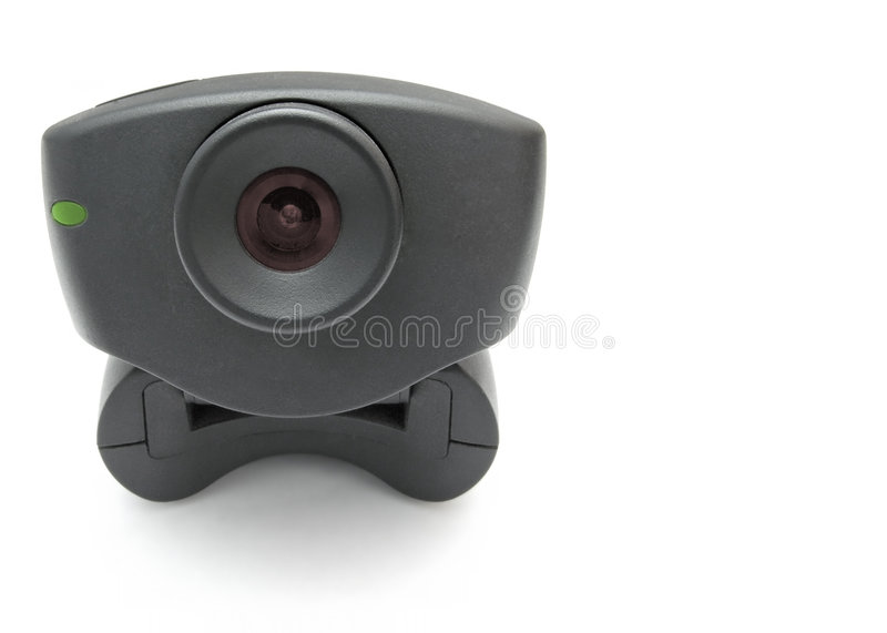 czarna kamera internetowa zdjęcie royalty free