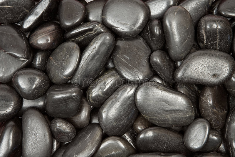 czarna kamyczek konsystencja obrazy stock