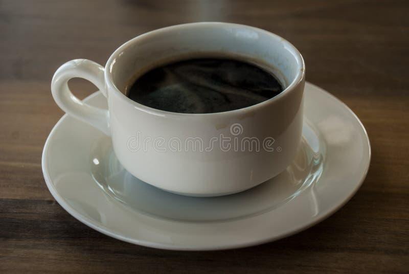czarna kawa obraz stock