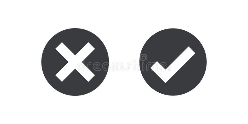 Czarna okrąg ikony czeka oceny ikona odizolowywająca na przejrzystym tle Zatwierdza symbol dla projekta projekta i odwoływa Płasc ilustracji