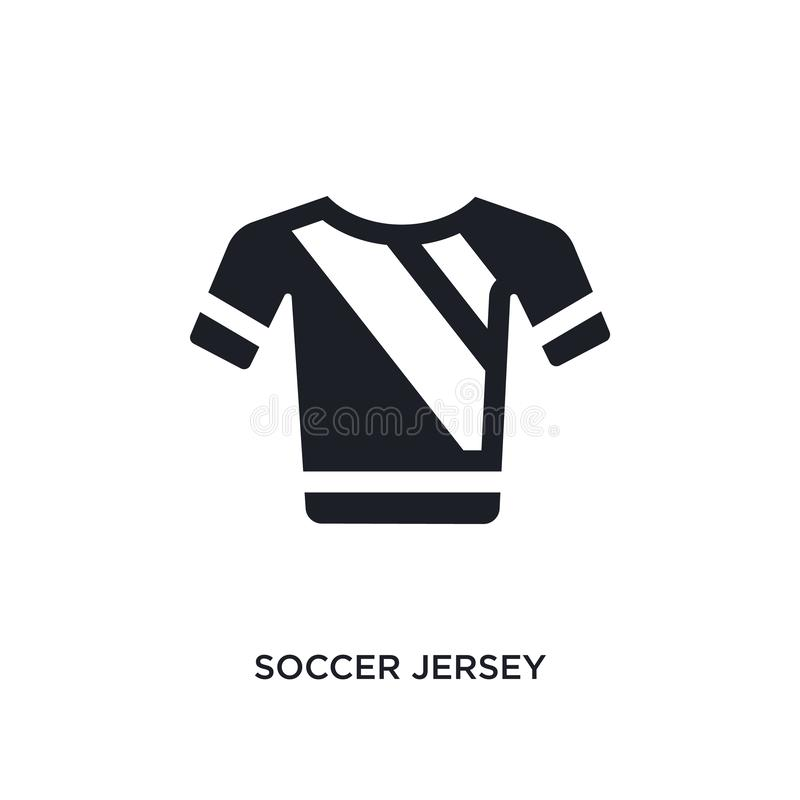 czarna piłki nożnej bydła odosobniona wektorowa ikona prosta element ilustracja od futbolowych pojęcie wektoru ikon piłki nożnej  ilustracja wektor