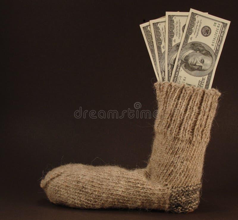 czarna pieniądze bezpieczne fotografia royalty free