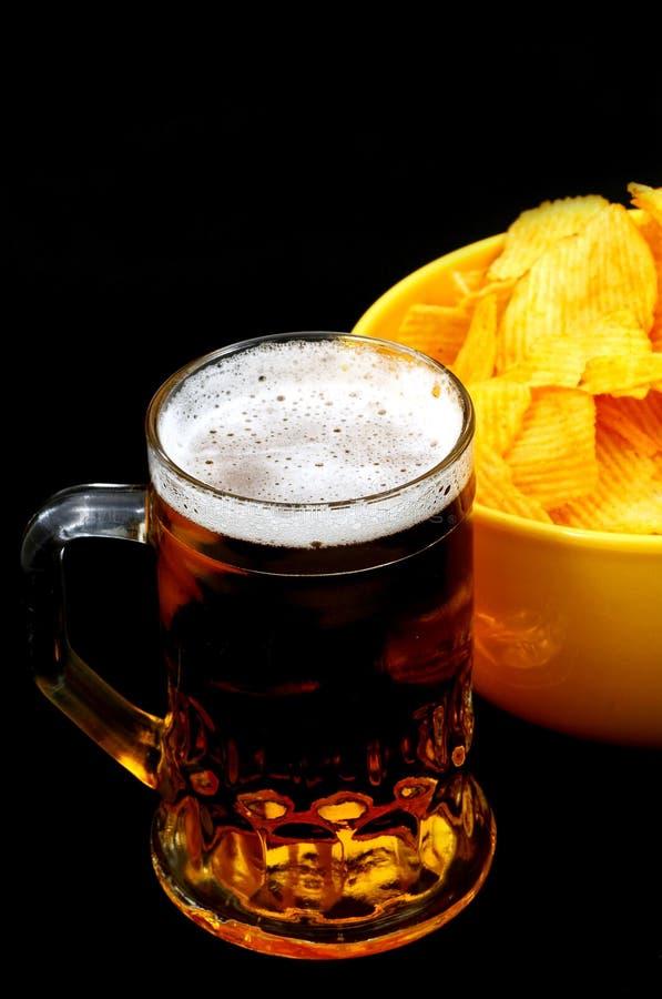 czarna piwa zdjęcie royalty free