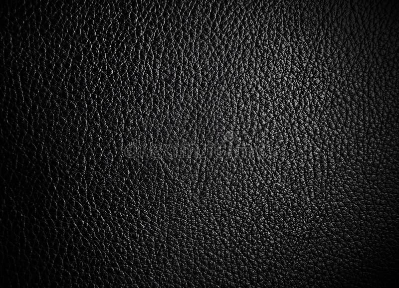 Czarna sk?ra dla tekstury od samochodowych siedze? zdjęcie royalty free