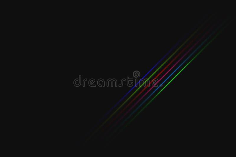 czarna tła abstrakcyjne ilustracji