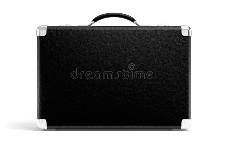czarna walizka obrazy stock