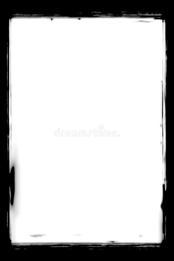 Czarne Abstrakcjonistyczne Fotograficzne krawędzie Dla portret fotografii zdjęcie royalty free