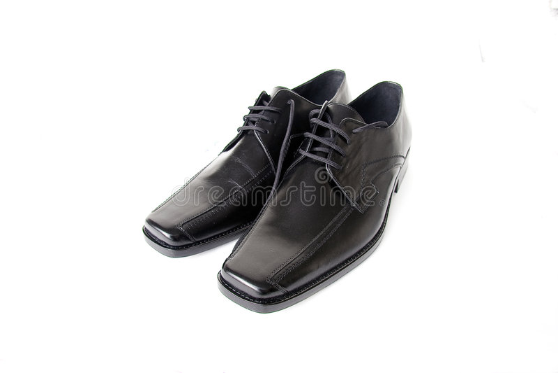 czarne buty zdjęcia stock