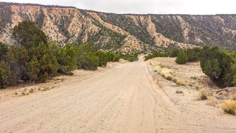 Czarne mesy w Północny Nowym - Mexico obrazy stock