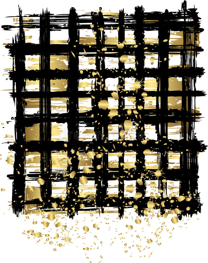 czarne złoto tła abstrakcyjne ilustracji