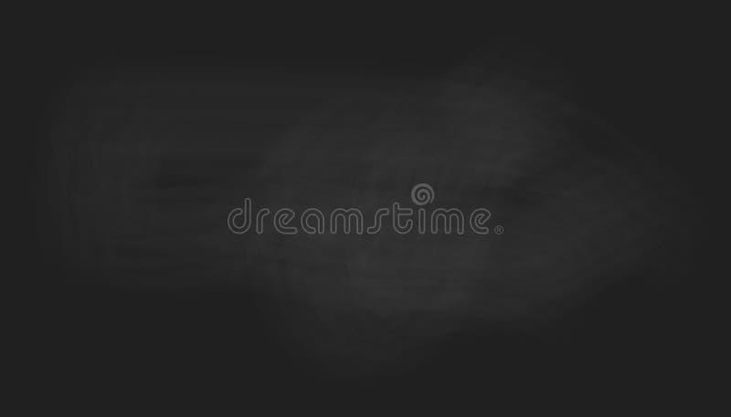Czarnego chalkboard tekstury wektorowy tło ilustracja wektor