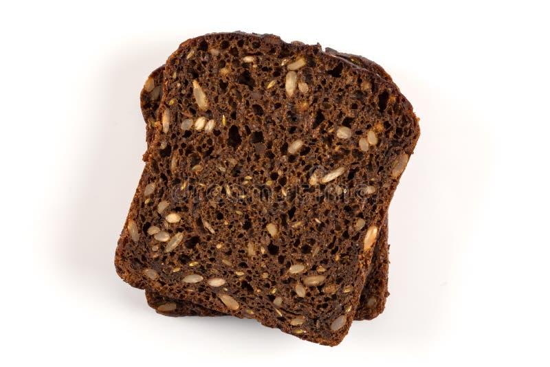 Download Czarnego Chleba Plasterek Odizolowywający Obraz Stock - Obraz złożonej z chleb, odosobniony: 106917823