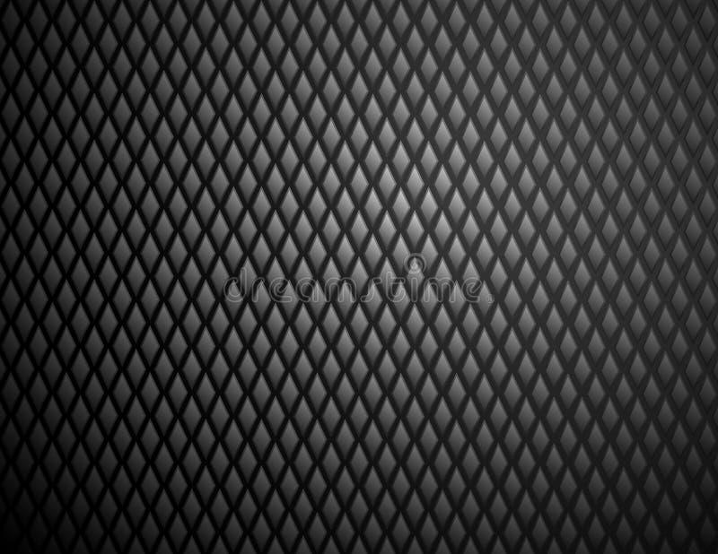 Czarnego diamentu stali wzór błyszczący zdjęcia stock