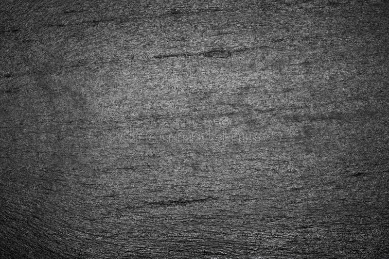 Czarnego iłołupka tekstury tło zdjęcia stock