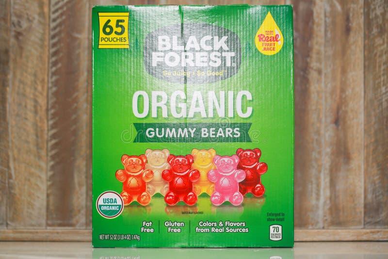 Czarnego lasu Organicznie Gumowaci niedźwiedzie zdjęcie stock