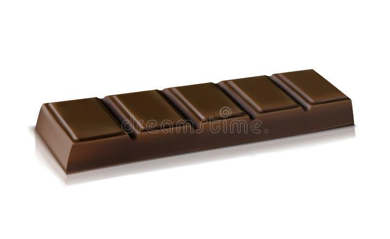 czarnej czekolady royalty ilustracja