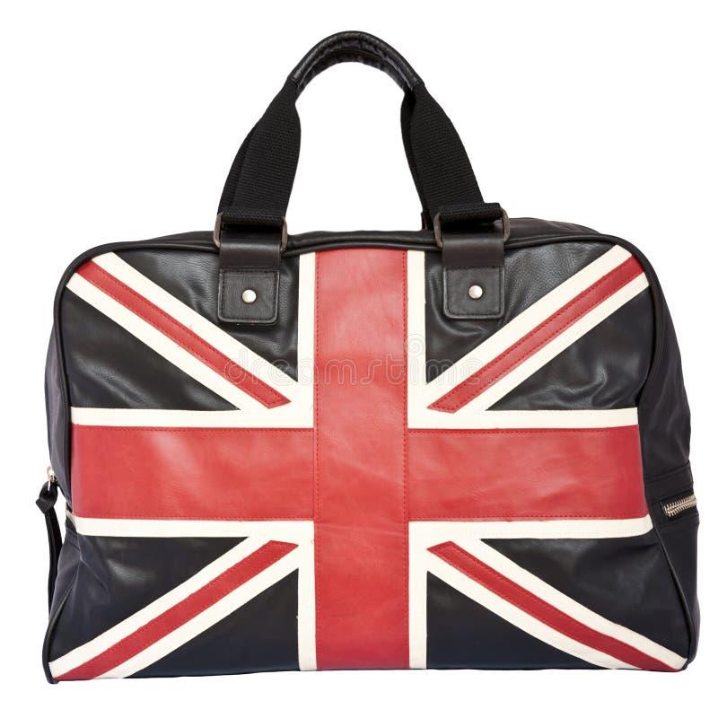 czarnej flaga torebki dźwigarki skóry zjednoczenie fotografia royalty free