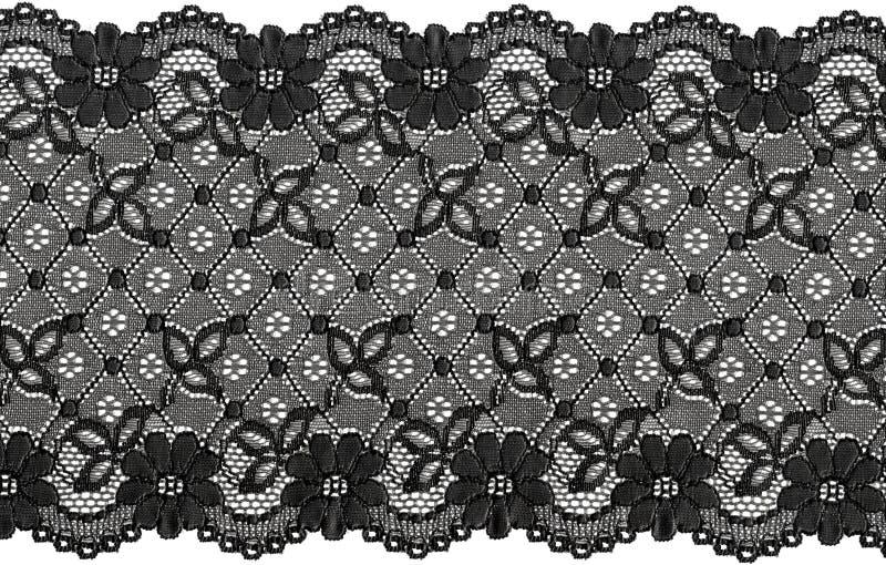 czarnej koronki zdjęcia stock