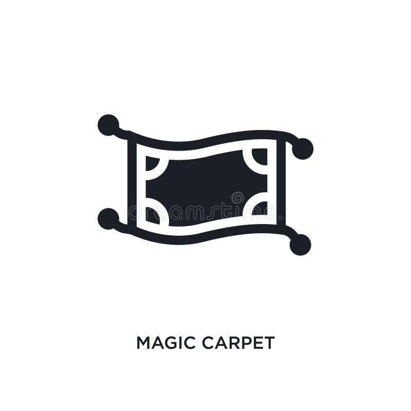 czarnej magii dywanu odosobniona wektorowa ikona prosta element ilustracja od religii poj?cia wektoru ikon magiczny dywanowy edit royalty ilustracja