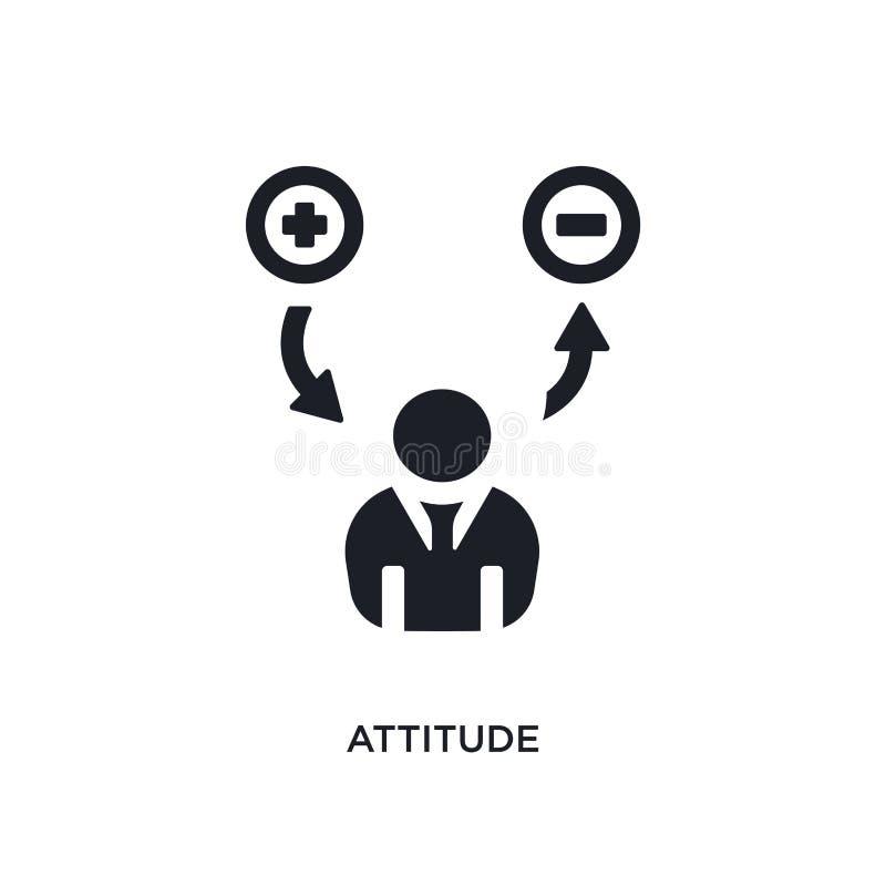 czarnej postawy odosobniona wektorowa ikona prosta element ilustracja od początkowych pojęcie wektoru ikon postawa logo editable  ilustracji