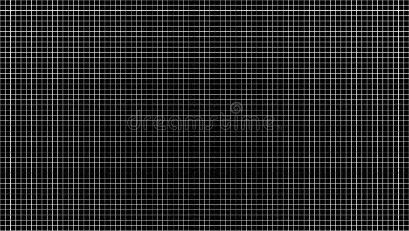 Czarnej prostokątnej płytki ściany wzoru powierzchni bezszwowa tekstura W górę wewnętrznego projekta dekoracji tła 3 d streszczen ilustracji