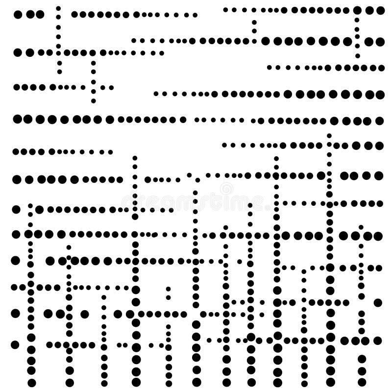 Czarnej tęczy wektorowy nowożytny geometrical okrąg ilustracja wektor