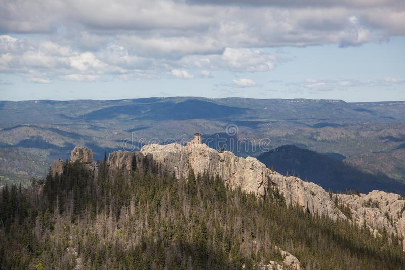 Czarni łosia szczytu południe Dakota zdjęcia stock