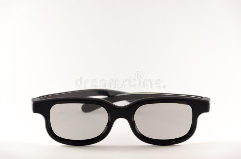 Czarni ramowi okulary przeciwsłoneczni fotografia royalty free