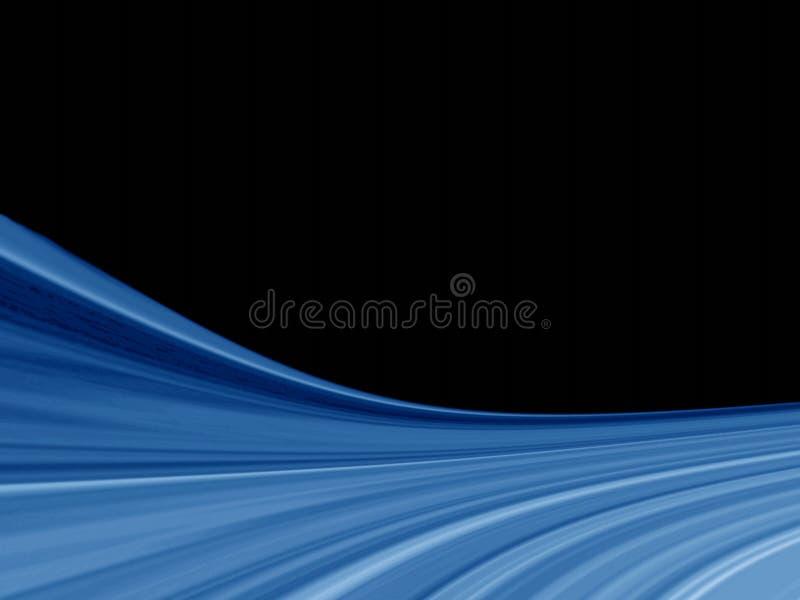 czarno pozyskiwania tła niebieski ilustracji