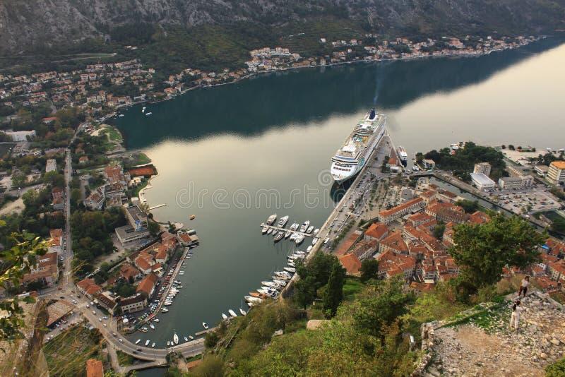 Czarnogóra kotor obraz stock