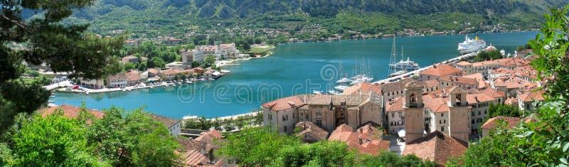 Czarnogóra kotor miasta zdjęcie royalty free