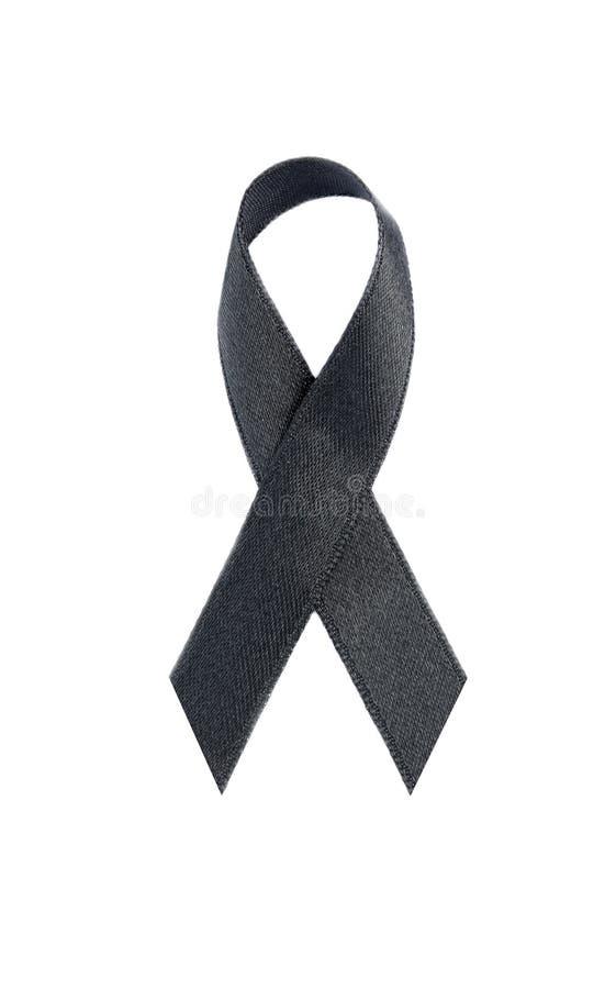 Czarny łęk odizolowywający na białym tle, ścinek ścieżka zdjęcie stock