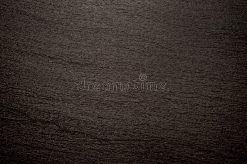 Czarny łupkowy tekstury tła wizerunek zdjęcia stock