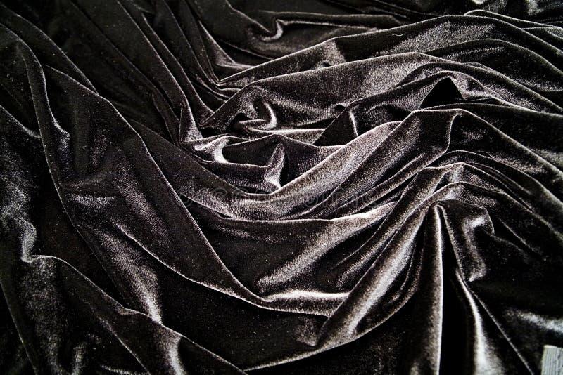Czarny aksamit obraz royalty free