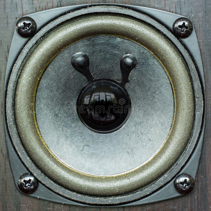 Czarny akustyczny mówca zdjęcie royalty free