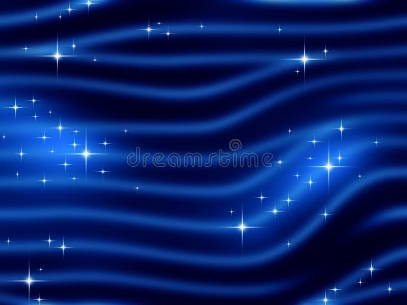 czarny backgrou niebieski zakrzywione ilustracji