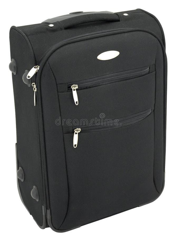 czarny bagaż obraz stock