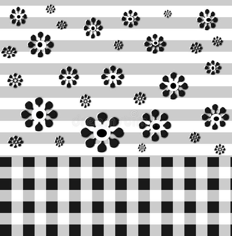 czarny białe tło ilustracja wektor