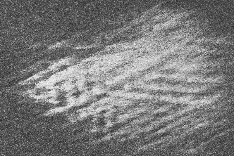 Czarny & Biały Abstrakcjonistyczny tekstury tło zdjęcia stock