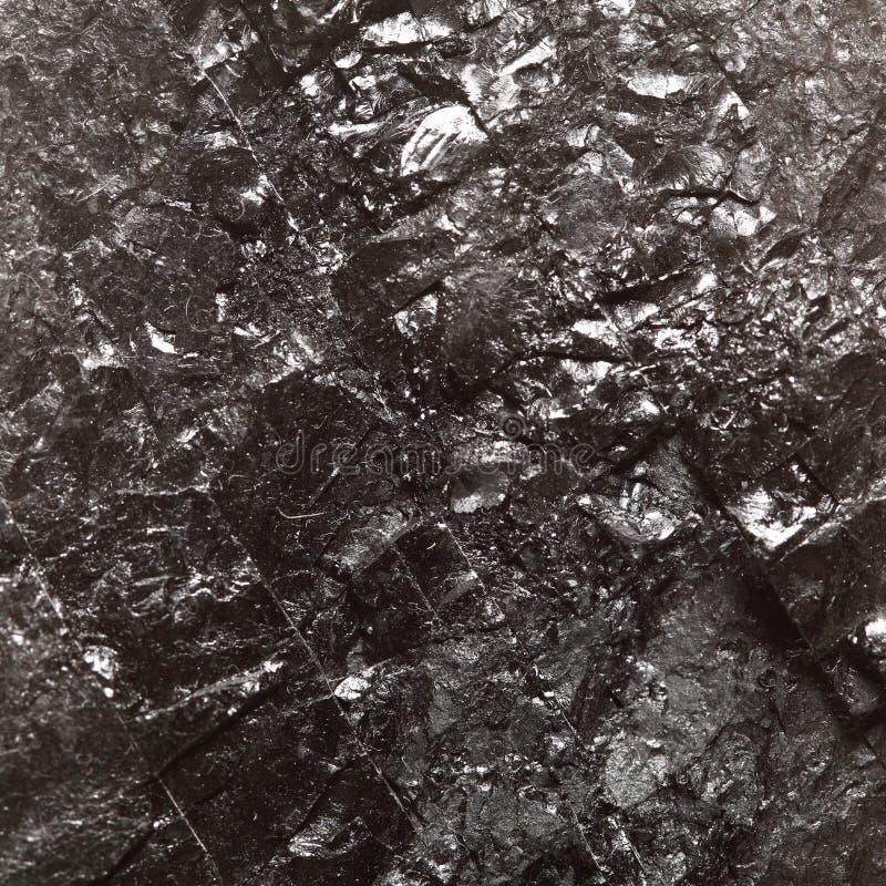 Czarny bitumiczny węgiel, węgiel bryłki tło obraz stock