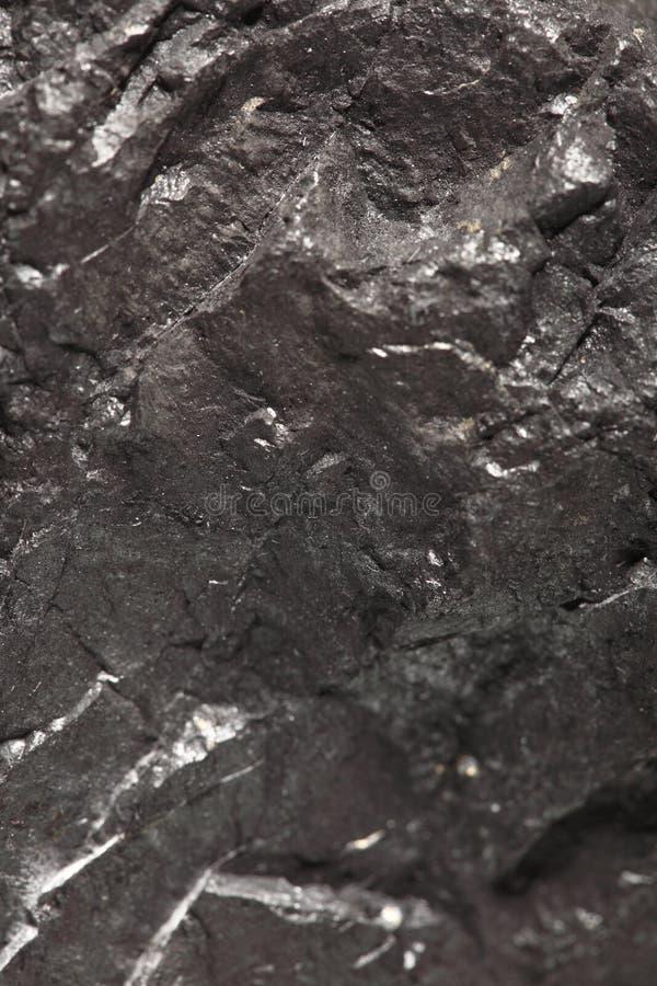 Czarny bitumiczny węgiel, węgiel bryłki tło zdjęcia stock