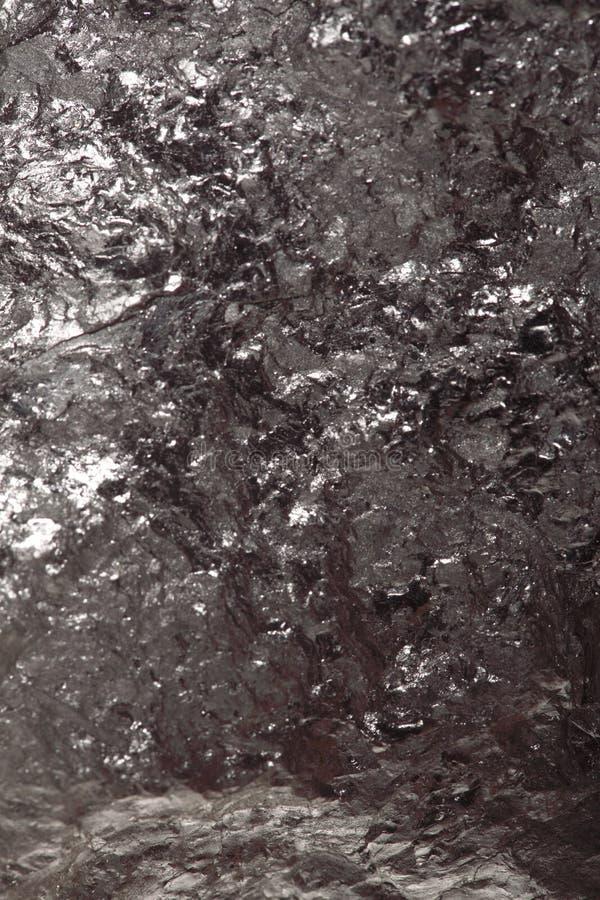 Czarny bitumiczny węgiel, węgiel bryłki tło obraz royalty free