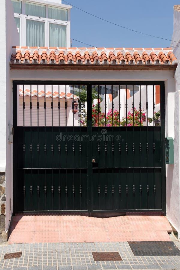 Czarny brama obrazy stock