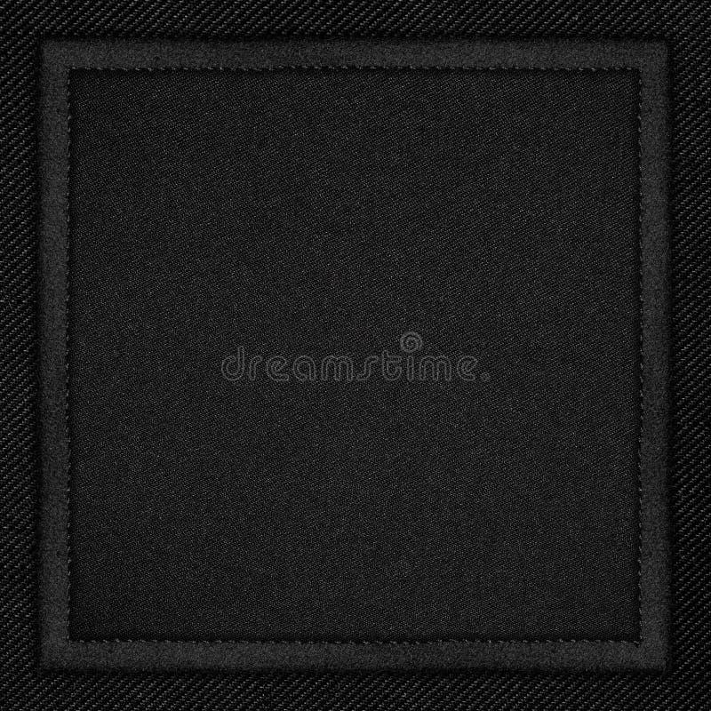 Czarny brezentowy tło obrazy stock