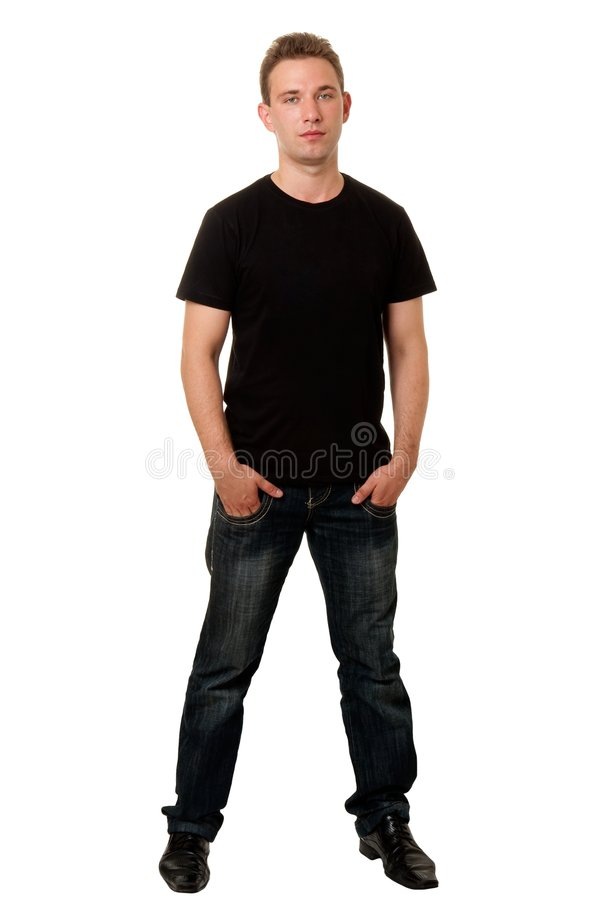 czarny chłopiec poważna koszula fotografia stock