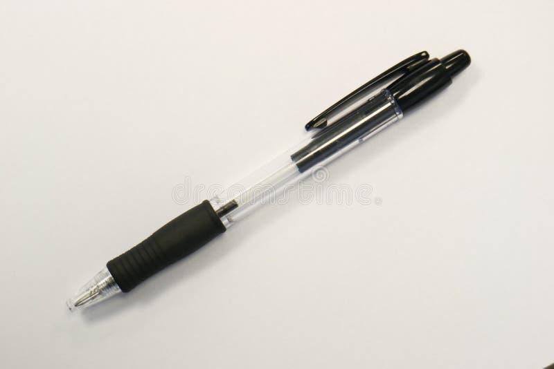 czarny długopis obraz stock