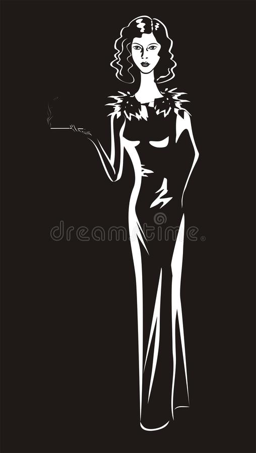 czarny dres dziewczyny portreta biel obrazy stock