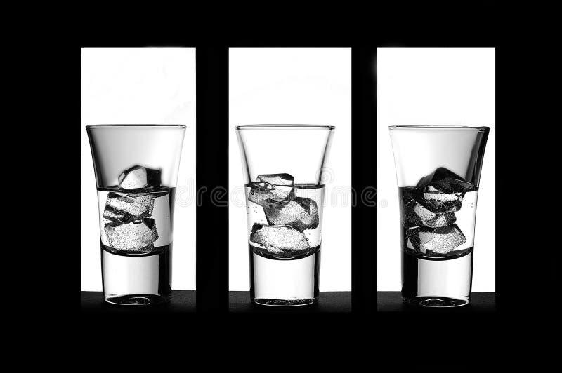czarny drinka obraz stock